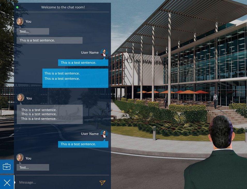 Virtual Reality Chat