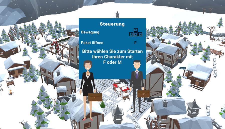 Virtual Reality Steuerung